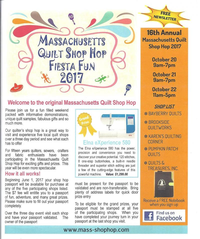 Massachusetts Shop Hop - Welcome to our Shop Hop Dates:Oct 20, 21 ... : quilt shops in massachusetts - Adamdwight.com